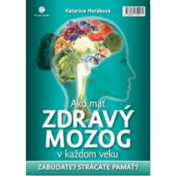 kniha Ako mať zdravý mozog v každom veku